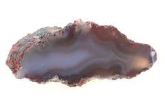 naturalny agat odizolowywający Obraz Royalty Free