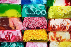 Naturalny aromatyczny handmade mydło obraz stock