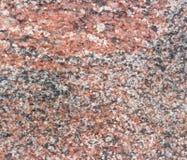Naturalny czerwony granitowy tło Obrazy Stock