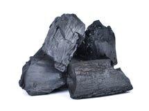 Naturalny drewniany węgiel drzewny, tradycyjny węgiel drzewny lub ciężki drewniany węgiel drzewny, Zdjęcie Stock