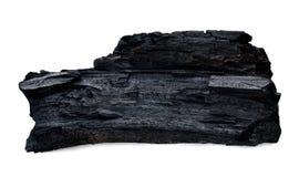 Naturalny drewniany węgiel drzewny Fotografia Stock