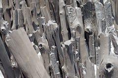 Naturalny drewniany węgiel drzewny Obraz Royalty Free