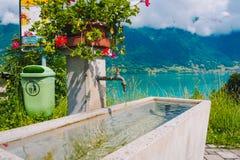 Naturalny faucet na sposobie Interlaken miasteczko Zdjęcia Stock