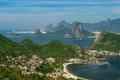 Naturalny góra krajobraz Rio De Janeiro obrazy royalty free