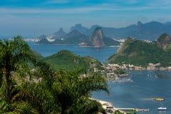 Naturalny góra krajobraz Rio De Janeiro zdjęcia royalty free