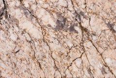Naturalny granitu kamień z unikalnym wzorem włączenia kwarcowe żyły zdjęcia royalty free
