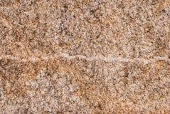 Naturalny granitu kamień z unikalnym wzorem włączenia kwarcowe żyły obraz stock