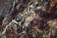 Naturalny hard rock tekstury tło Zdjęcia Royalty Free