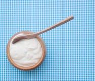 Naturalny jogurt Obrazy Royalty Free