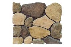 Naturalny kamień na ścianie Obrazy Royalty Free