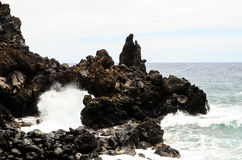 Naturalny kamienia łuk Zdjęcie Royalty Free