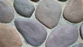 Naturalny kamiennej ściany tapety tło Obrazy Royalty Free