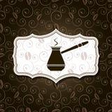 Naturalny kawowy tło Obraz Royalty Free