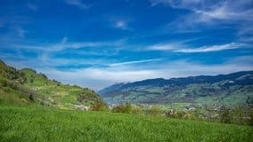Naturalny krajobraz Z Mountain View zdjęcia royalty free