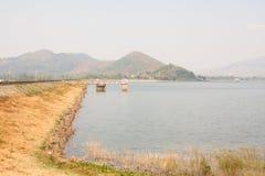 Naturalny lokaci Bangpra Chonburi miejscowego jezioro Fotografia Royalty Free
