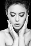 Naturalny makeup Zdjęcie Royalty Free
