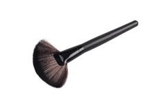 Naturalny makeup muśnięcie Fotografia Stock