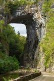 Naturalny most - Naturalny Bridżowy stanu park, Virginia, usa Fotografia Stock