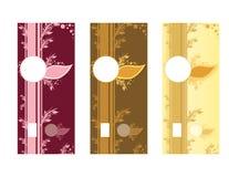 Naturalny Mydlany etykietka szablon zdjęcia stock