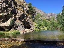 Naturalny pływacki basen Fotografia Stock