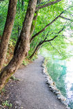 Naturalny park Plitvice, Chorwacja Obrazy Royalty Free