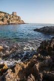 Naturalny park Porto Selvaggio Zdjęcia Stock
