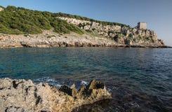 Naturalny park Porto Selvaggio Fotografia Stock