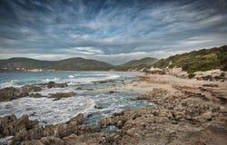 Naturalny park salinas ibiza zdjęcia royalty free