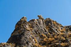 Naturalny park Yecla, zdjęcie royalty free