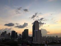 Naturalny piękna słońca niebo Zdjęcie Stock