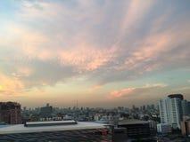 Naturalny piękna słońca niebo Zdjęcia Stock