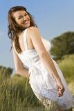 naturalny piękny śmiech Fotografia Royalty Free
