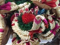 Naturalny piękno kwiat w Bangkok Obrazy Royalty Free