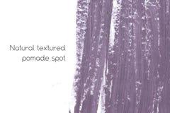 Naturalny pomaduje sztandaru tło z surową grunge teksturą kosmetyki Fotografia Stock