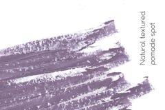 Naturalny pomaduje sztandaru tło z surową grunge teksturą kosmetyki Obrazy Royalty Free