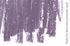 Naturalny pomaduje sztandaru tło z surową grunge teksturą kosmetyki Zdjęcie Royalty Free