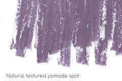 Naturalny pomaduje sztandaru tło z surową grunge teksturą kosmetyki Fotografia Royalty Free