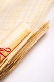 Naturalny pusty Egipski papirus Zdjęcie Stock
