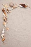 naturalny ramowy morza Obrazy Stock