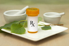naturalny remedium zdjęcia stock