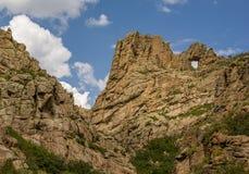 Naturalny skała łuk w Skalistych górach obraz royalty free