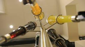 Naturalny sok pije produkci, mały biznes, rodzaj lemoniada, żywa woda zbiory wideo