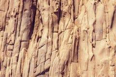 Naturalny stałej skały tło Fotografia Royalty Free