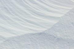 Naturalny surowy śnieg nakrywać tekstury Zdjęcie Stock