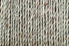 Naturalny tło, kosz tkana włókno arkana obrazy royalty free