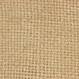 Naturalny textured burlap hessian tekstury kawy parciany worek, lekki kraj grabije kanwę, makro- tło Fotografia Royalty Free