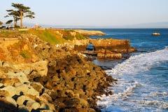 Naturalny łuku park, Santa Cruz Zdjęcia Stock