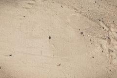 Naturalny widok: Żółty rzeczny piaska tło Obraz Stock