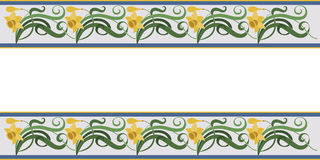 Naturalny wzór, kwiaty, liście Zdjęcie Stock