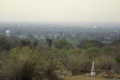 Naturalny zakrywa z smogiem obraz stock
